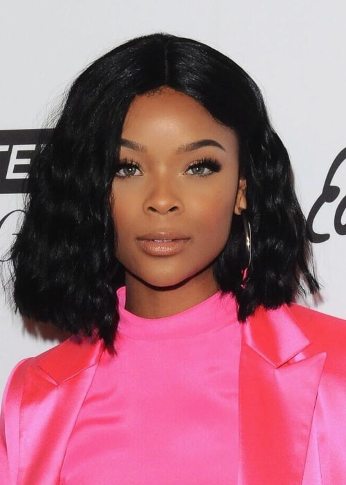 Ajiona Alexus as seen in April 2018