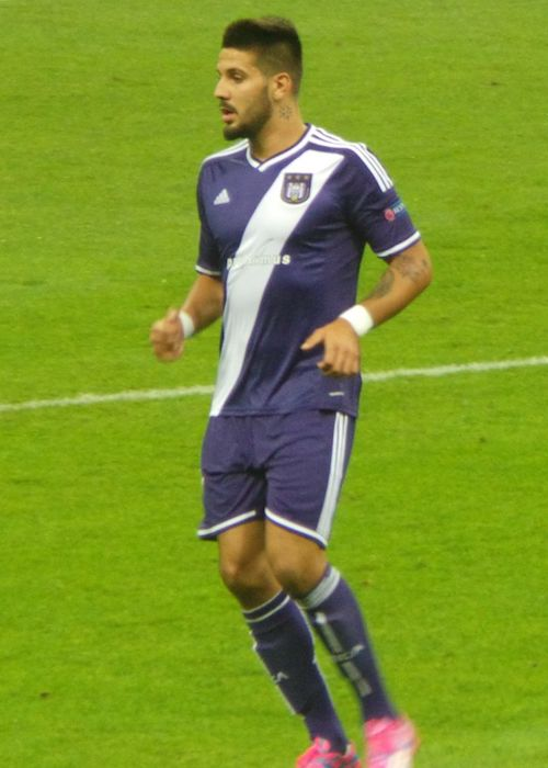 Aleksandar Mitrović while playing for Galatasaray in September 2014
