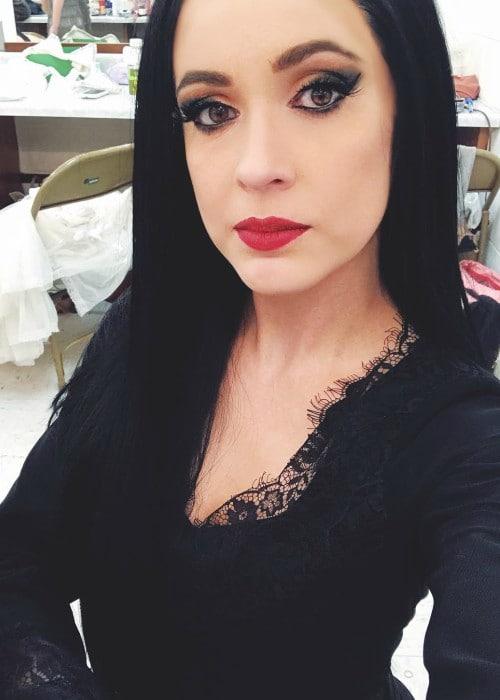 Allison Paige McBryar in an Instagram selfie as seen in April 2018