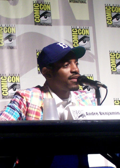 Andre 3000 aka Andre Benjamin during the 2007 Comic-Con in San Diego