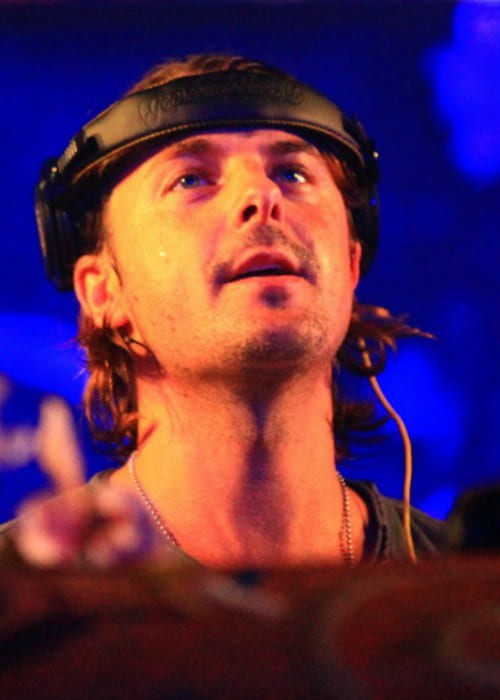 Axwell playing live at Tomorrow World Festival in 2013