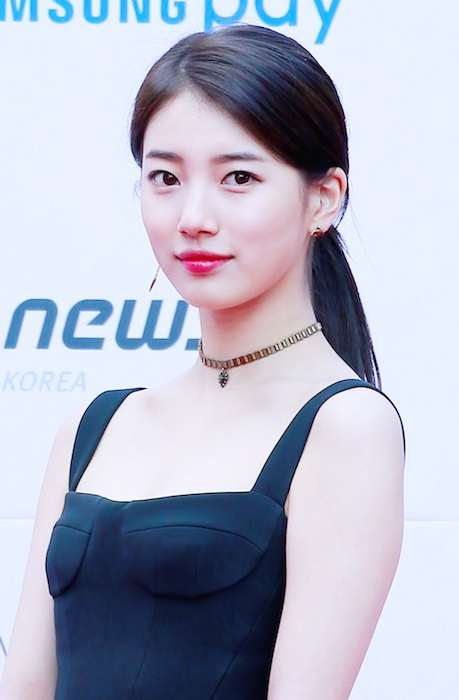 Bae Suzy during Asian Artist Awards in November 2017
