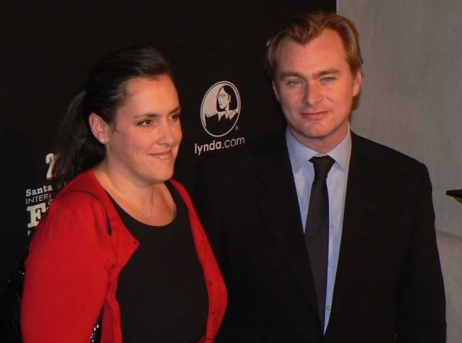 Christopher Nolan as seen with his wife Emma Thomas at The Santa Barbara Independent SBIFF 2011