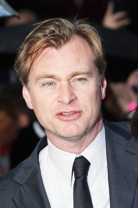 Christopher Nolan at the premiere of the movie 'Man of Steel' in Leicester Square, London, UK