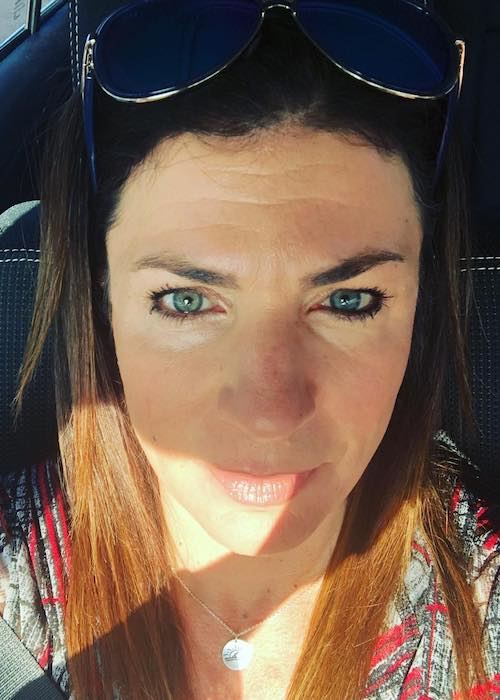Danelle Umstead in an Instagram selfie in September 2018