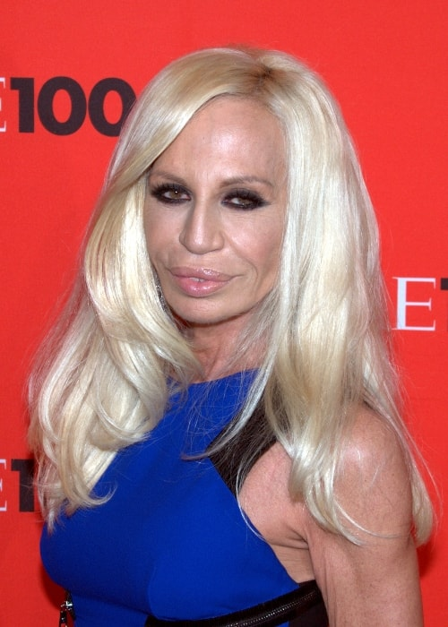 Donatella Versace as seen in Time 100 Gala in 2010