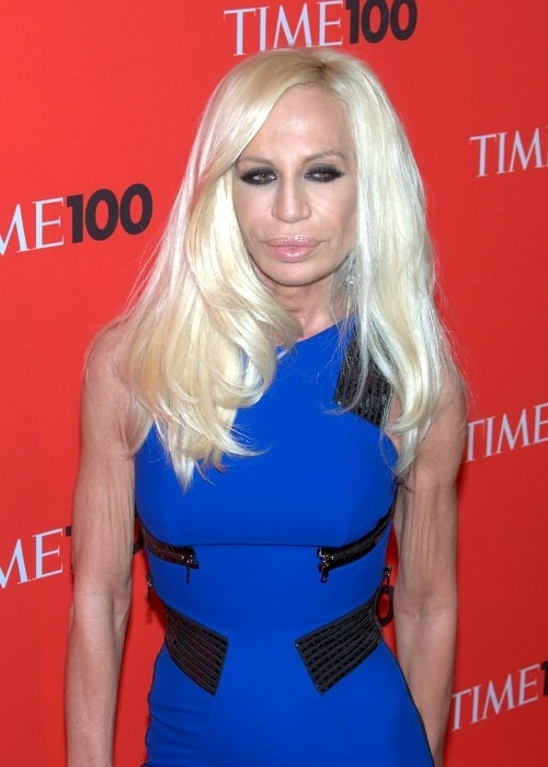 Donatella Versace looks stunning at the Time 100 Gala in 2010