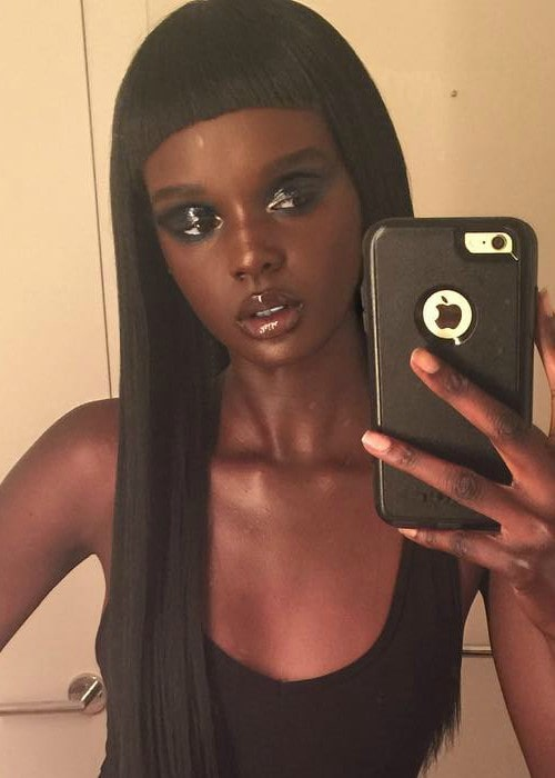 Duckie Thot in a selfie in July 2017