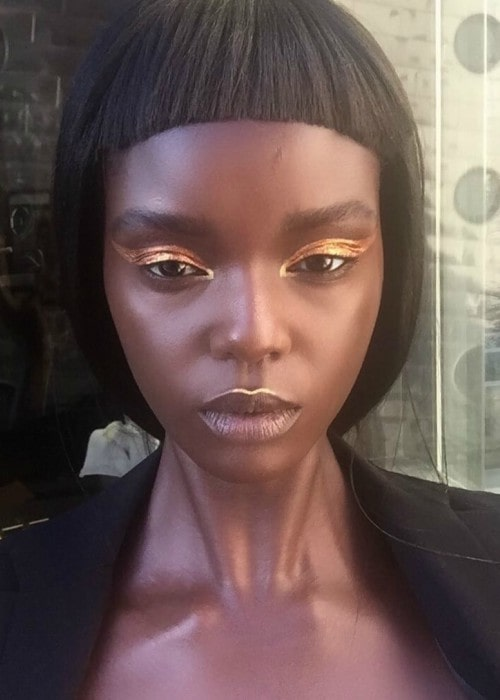 Duckie Thot in an Instagram selfie as seen in March 2017