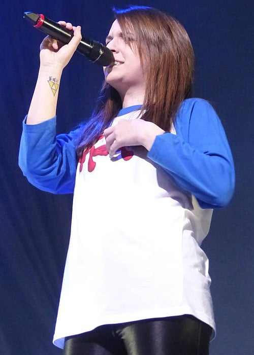 Emma Blackery during a performance at the Manchester Arena in June 2016