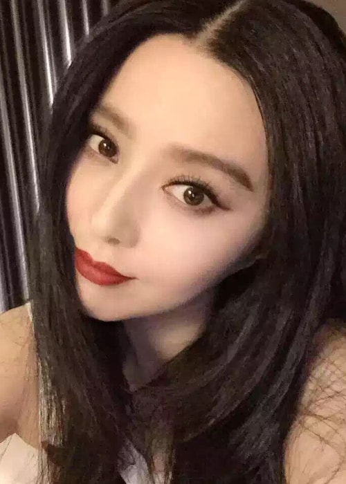 Fan Bingbing in a selfie in September 2015