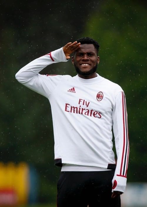 Franck Kessié as seen in May 2018
