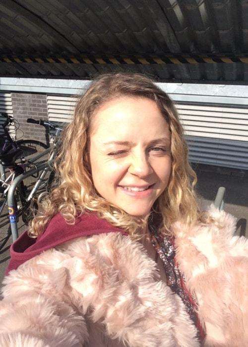 Georgia Henshaw in a selfie in April 2016