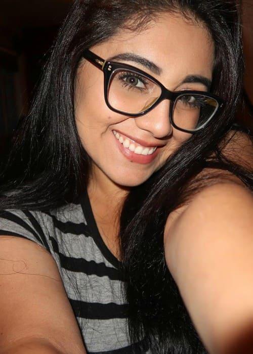 Giselle Henriquez in a selfie in October 2017