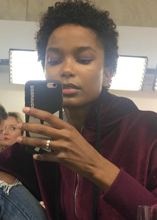 Isilda Moreira in a selfie in October 2017