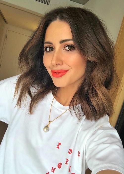Jasmin Howel in a selfie in New York City, New York in September 2018