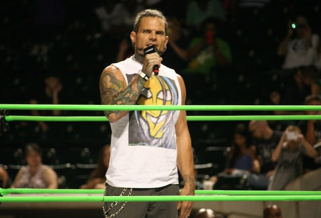 Jeff Hardy during GFW Winston Salem at North Carolina in 2015