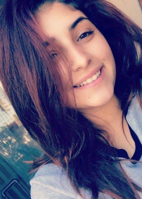 Jennishka Roman in an Instagram selfie as seen in January 2017