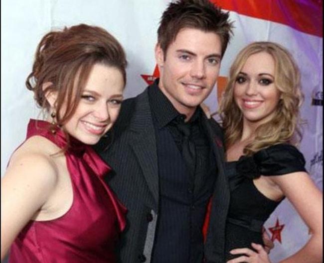 Joy Lauren with Josh Henderson and Andrea Bowen (Corner Right)