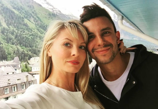 Kaitlin Doubleday and Devin Lucien as seen in August 2015