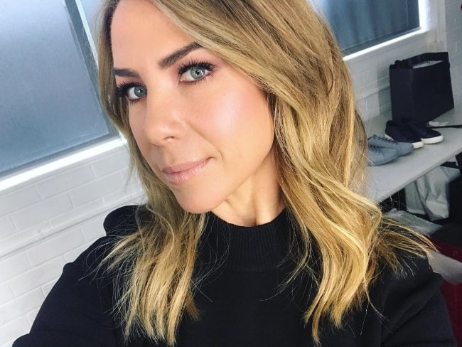 Kate Ritchie in a selfie in New South Wales, Australia in June 2018