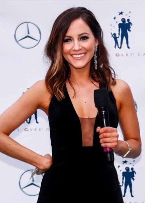 Kay Adams at the Bears Care Gala in May 2018