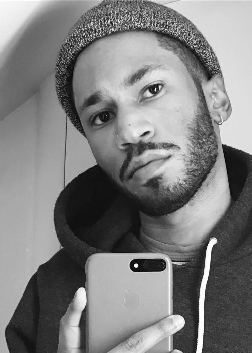 Kaytranada in a mirror selfie in March 2017