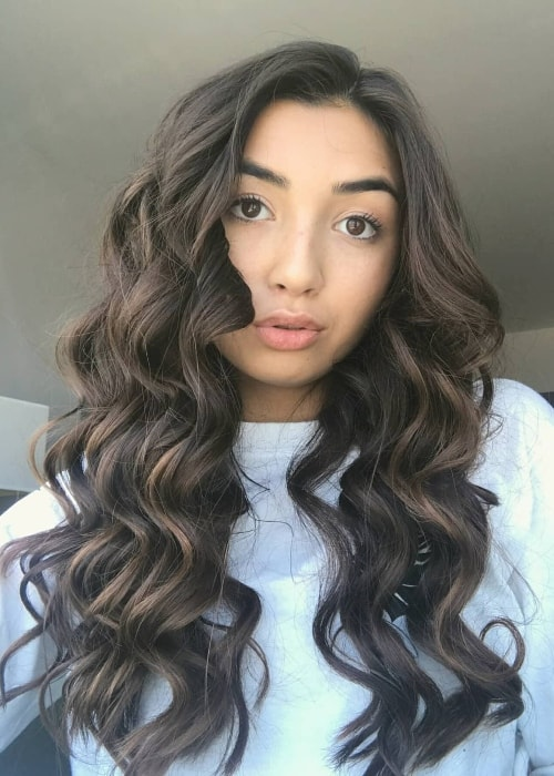 Kelsey Leon in a Sunday-selfie in September 2018