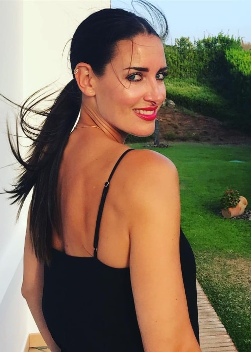 Kirsty Gallacher as seen in August 2018