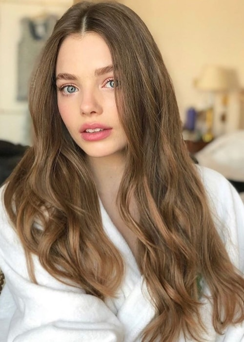 Kristine Froseth as seen in March 2018