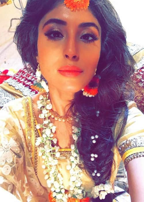 Kritika Kamra in a selfie in June 2017