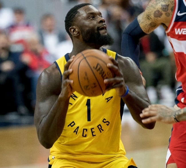 Lance Stephenson as seen in March 2018