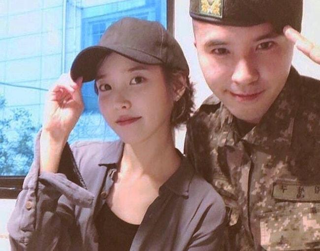 Lee Ji-eun as seen in August 2018