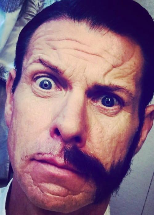 Lloyd Owen in an Instagram selfie as seen in February 2018