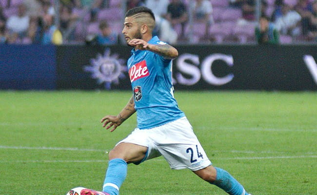 Lorenzo Insigne as seen in August 2014