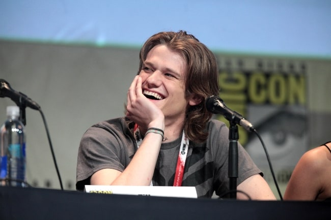 Lucas Till at the San Diego Comic Con International in July 2015
