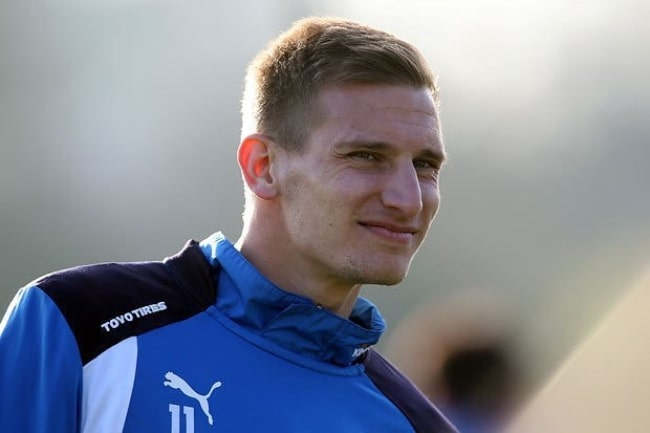 Marc Albrighton as seen grinning in a picture