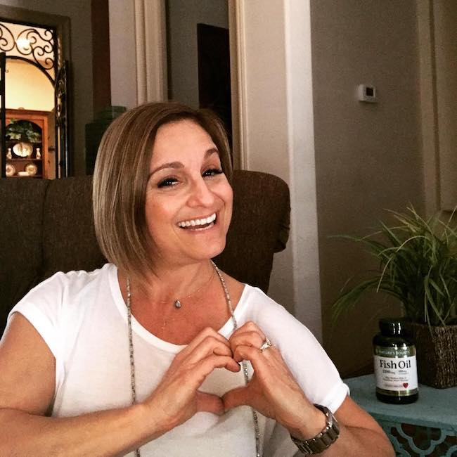 Mary Lou Retton promoting Nature's Bounty in February 2017