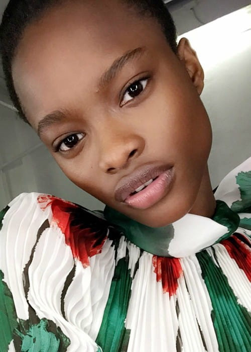 Mayowa Nicholas in an Instagram selfie as seen in August 2016
