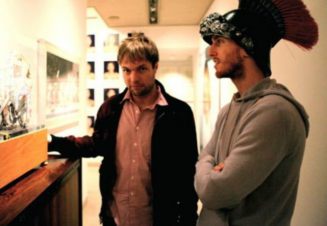 Mickey Madden (Left) and Jesse Carmichael as seen in 2012