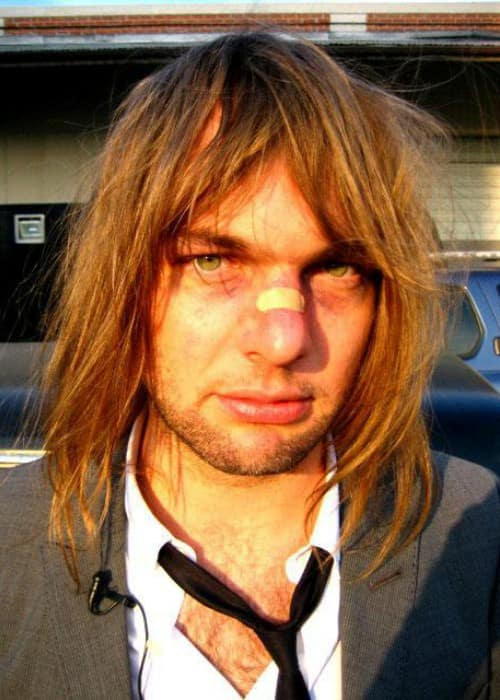 Mickey Madden in a selfie as seen in January 2012
