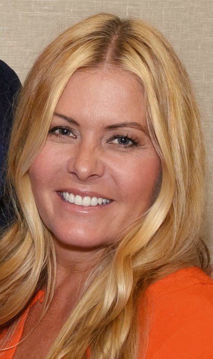 Nicole Eggert at the Chiller Theatre Expo in October 2017