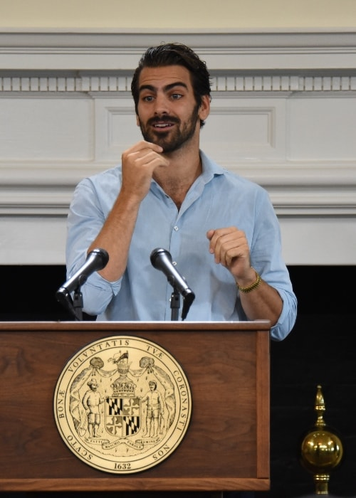Nyle DiMarco during the Citation Presentation at Maryland State House, 100 State Circle, Governor's Reception Room in September 2016