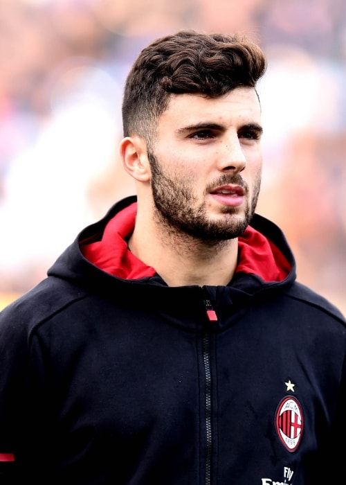 Patrick Cutrone as seen in February 2018