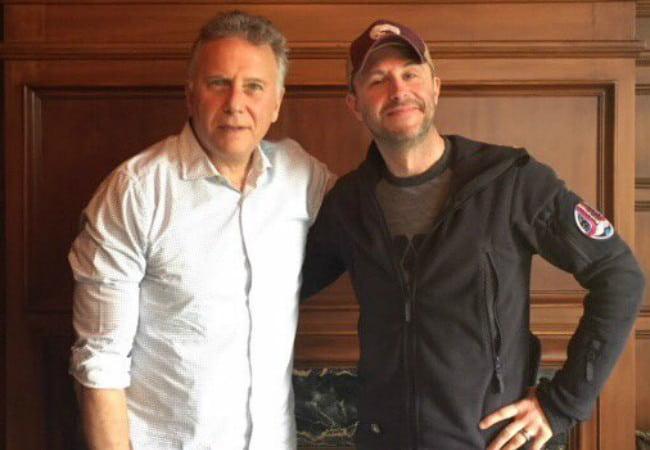 Paul Reiser (Left) and Chris Hardwick as seen in March 2018