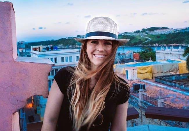 Rachel Earls at Havana as seen in March 2017