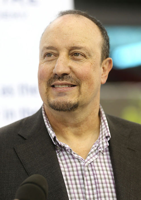 Rafael Benítez at the Aspire4Sport Conference in Doha, Qatar in 2012