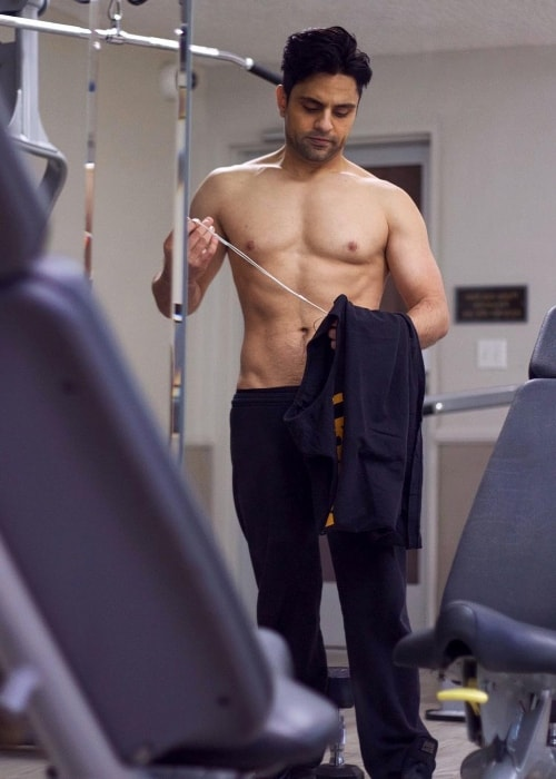 Ray William Johnson in a picture taken to show the result after only 2 months of his hard workout sessions in December 2016