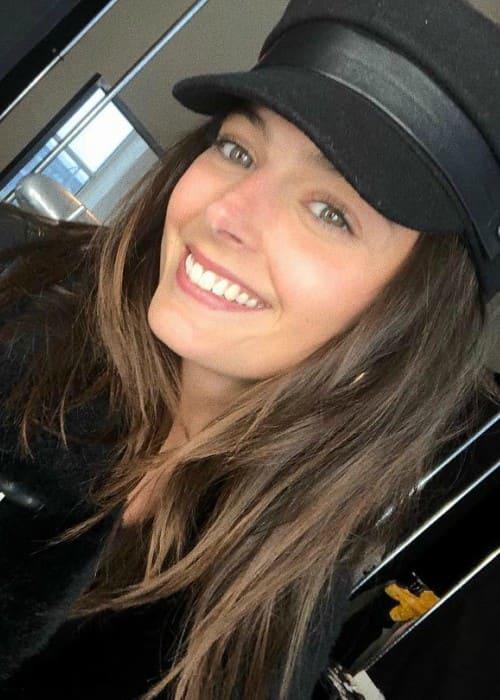 Sadie Newman in an Instagram selfie as seen in February 2018