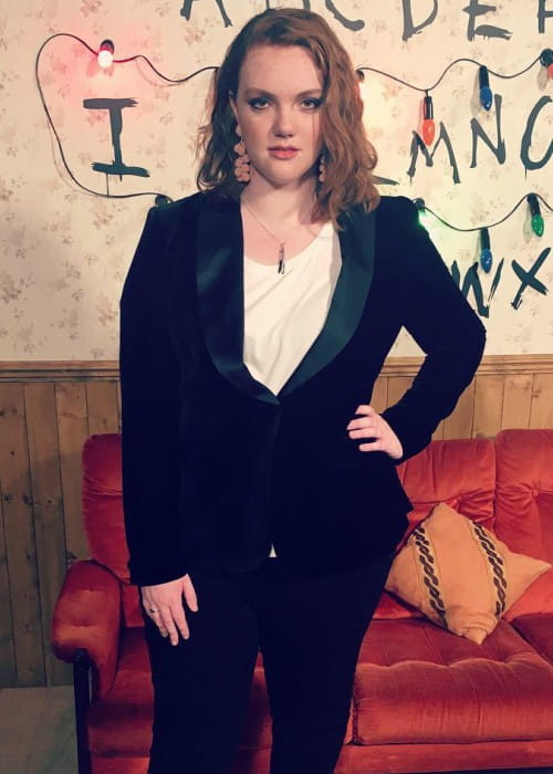 Shannon Purser as seen in October 2017